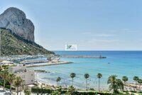 New construction. Apartments in a new residential building near the sea in Calpe.